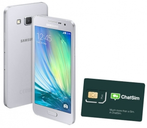 Samsung smart mobilni telefon Galaxy A3 A300 DS + CHAT SIM