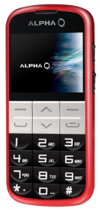 Alpha mobilni telefon Elephant DS RED