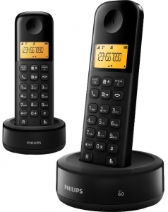 Philips bežični telefon D 1302B/53