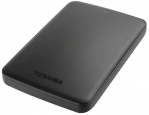 "Toshiba HDD Canvio Basics 2.5"" 1TB Black, USB 3.0 eksterni hard d"