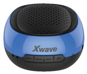 X WAVE Bluetooth zvučnik B COOL ALL BLACK BLUE RI