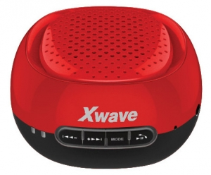 X WAVE Bluetooth zvučnik B COOL RED CAP BLACK