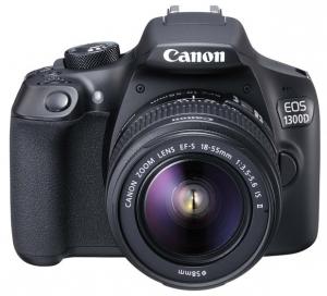 CANON Fotoaparat EOS1300D EFS18 55 IS
