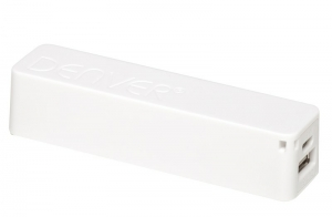 DENVER power bank PBA 2600 WHITE