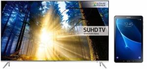 SAMSUNG tv set UE65KS7002UXXH+T580