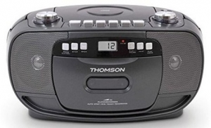 THOMSON radio kasetofon RK 200 CD CRNI