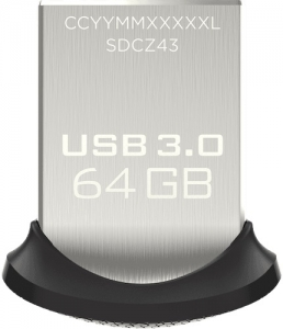 SAN DISK usb flash ULTRA FIT 64GB