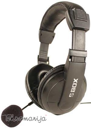 S Box slušalice sa mikrofonom HS-301