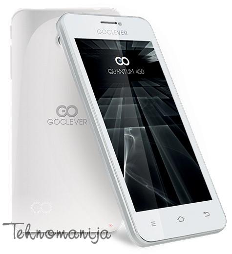 Goclever smart mobilni telefon QUANTUM 450 WHITE GCFONE450QW