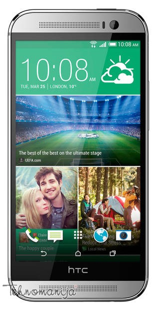 HTC smart mobilni telefon ONE M8 SILVER