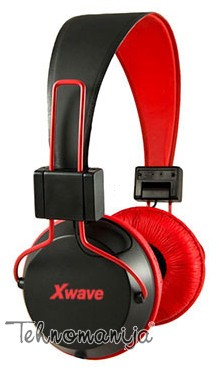 X Wave slušalice HD 380 RED