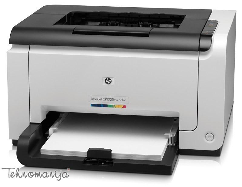 HP štampač LaserJet Pro CP1025nw CE918A