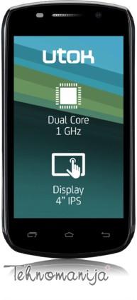 Utok smart mobilni telefon 401D CRNI