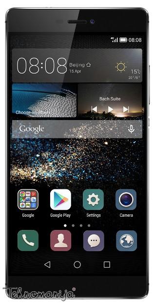 Huawei P8 TITAN GRAY + POKLON Slušalice