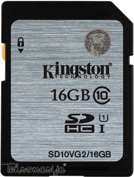Kingston memorijska kartica KFS10VG2/16GB