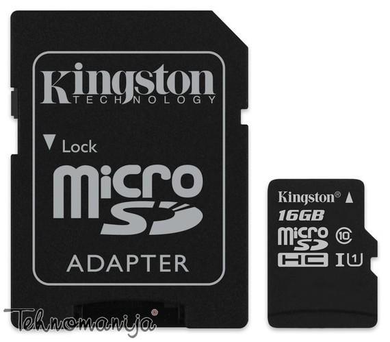 Kingston memorijska kartica KFSDC10G2/16GB