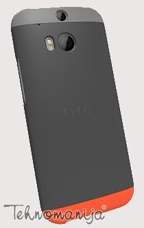 HTC maska za telefon HTC DOUBLE CASE GRAY