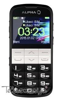 Alpha mobilni telefon Elephant DS BLACK