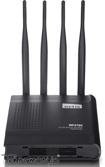 NETIS 1167Mbps, Ruter AC1200