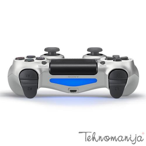 PLAYSTATION Kontroler PS4 DS CONTROLLER SILVER