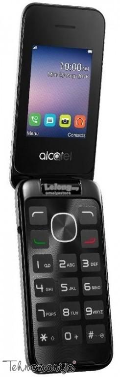 ALCATEL Telefon 2051D METAL SILVER