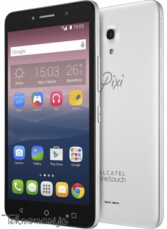 ALCATEL Smart telefon 8050D METAL SILVER, 1 GB, 8 Mpix, Siva