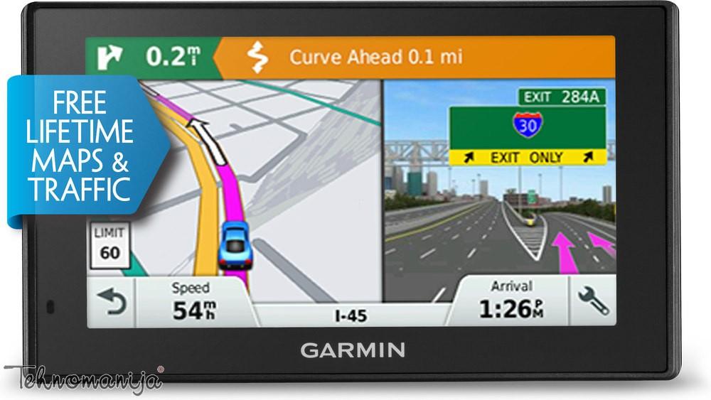 GARMIN navigator DRIVESMART 50 LMT