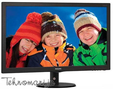 "PHILIPS Monitor 23.6"" 243V5QSBA 00, 1920x1080 Full HD"