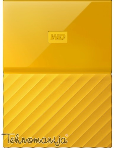 "WD EXT 2.5"" My Passport 1TB Yellow WDBYNN0010BYL-WESN"
