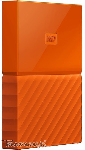 """WD EXT 2.5"""" My Passport 3TB Orange WDBYFT0030BOR-WESN"""