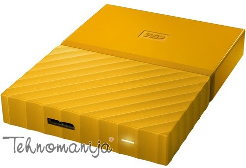 "WD EXT 2.5"" My Passport 3TB Yellow WDBYFT0030BYL-WESN"