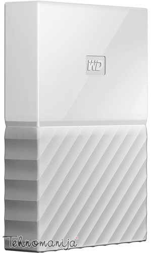 "WD EXT 2.5"" My Passport 4TB White WDBYFT0040BWT-WESN"
