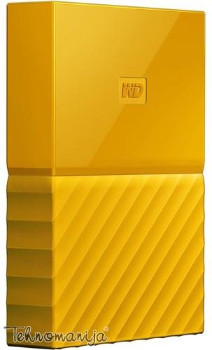 "WD EXT 2.5"" My Passport 4TB Yellow WDBYFT0040BYL-WESN"