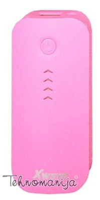 X WAVE power bank GO 44 PINK