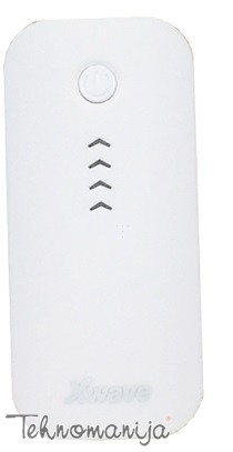 X WAVE power bank GO 44 WHITE