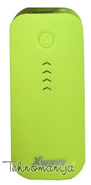 X WAVE power bank GO 44 GREEN