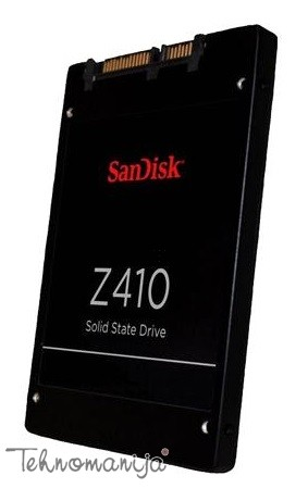 "SANDISK Z410 240GB SSD, 2.5"" 7mm, SATA 6 Gbit/s, Read/Write: 535"