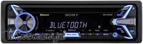 SONY auto radio MEXN4100BT.EUR