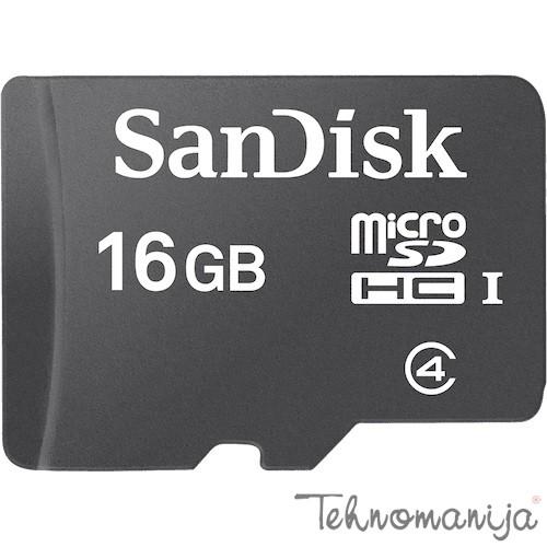 SAN DISK memorijska kartica SDHC 16GB MICRO