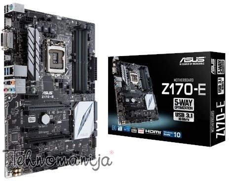 ASUS Matična ploča Z170 E, Intel 1151, Intel Z170, ATX