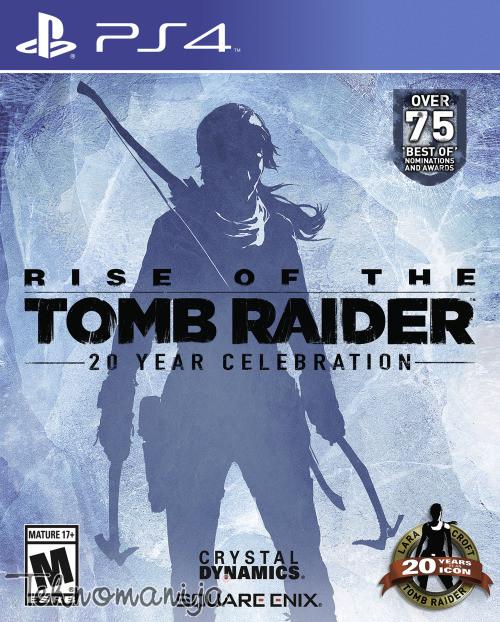 PS4 Igra RISE OF THE TOMB RAIDER 20TH ANNIVERSARY EDITION, SQUARE ENIX