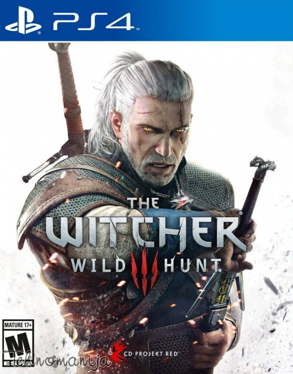 CD PROJECT RED igra PS4 THE WITCHER 3 WILD HUNT
