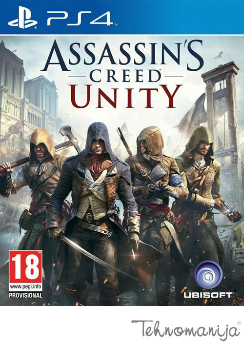 UBISOFT igra PS4 ASSASSINS CREED UNITY