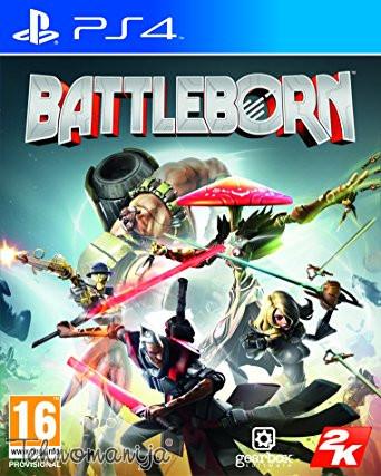 TAKE2 igra PS4 BATTLEBORN