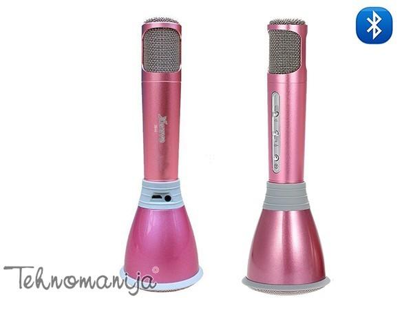 X WAVE Mikrofon X 5 M SILVER PINK
