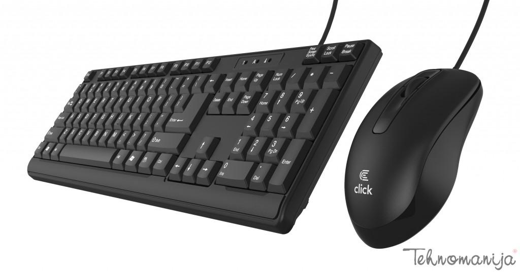 CLICK Tastatura + miš KML 0B US
