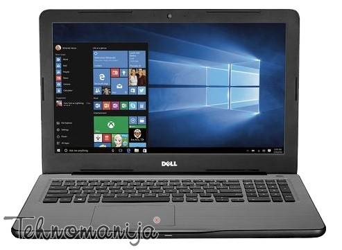 DELL laptop Inspiron 15 (5567), i3-6006U, 4GB, 1TB, NOT10846