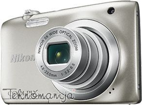 Nikon Kompaktni foto-aparat A100 SET - Srebrni