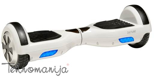 "DENVER Hoverboard DBO 650 Beli, 6.5"", do 120 kg, 2x350W"