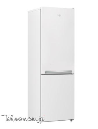 BEKO Kombinovani frižider RCSA 270 K20 W, Samootapajući